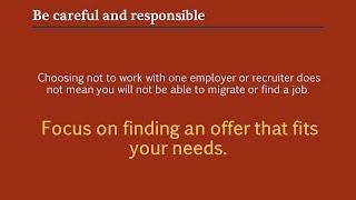 Review a contract: job description - Part I