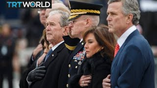 George HW Bush 1924-2018: Family, leaders pay tribute to late president