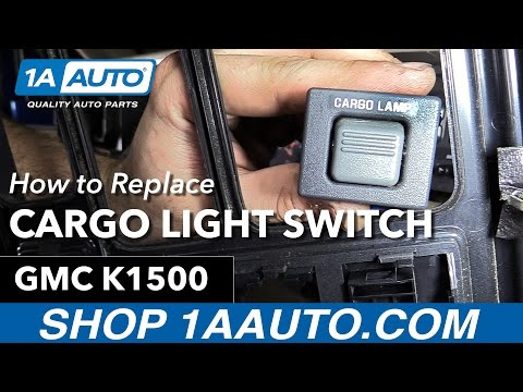 How to Replace Cargo Lamp Switch 88-98 GMC K1500