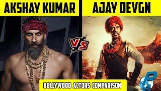 Akshay Kumar VS Ajay Devgn | Bollywood Actors Comparison 2020 | Placify