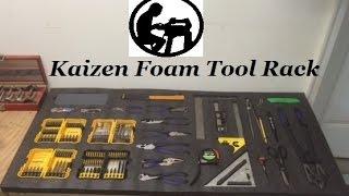 Kaizen Foam Pallet Tool Rack
