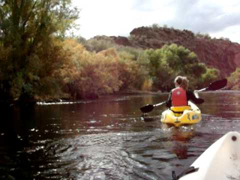 Arizona Kayaking Trips Down the Lower Salt River