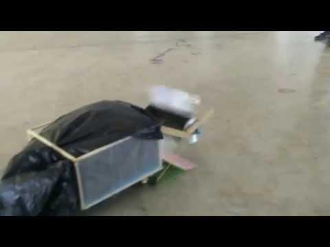 โครงงานวิทยาศาสตร์ประเภทสิ่งประดิษฐ์  เรื่องรถเก็บขยะ (โรงเรียนหัวหิน)