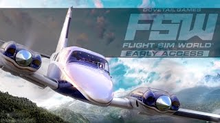 Flight Sim World's Early Access Launch Trailer