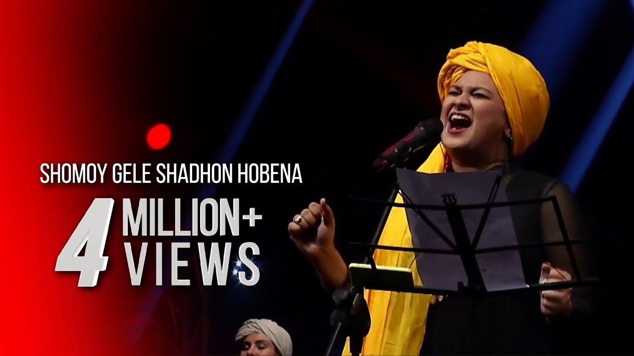 SHOMOY GELE SHADHON HOBENA - TAPOSH & FRIENDS : ROBI YONDER MUSIC WIND OF CHANGE [ PS:02 ]