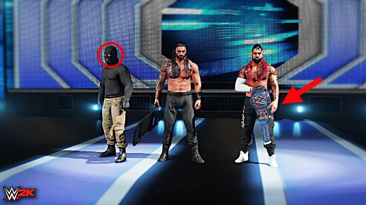 WWE 2K Custom Story - Heel Roman Reigns forms The New SHIELD ft. Reigns, Triple H