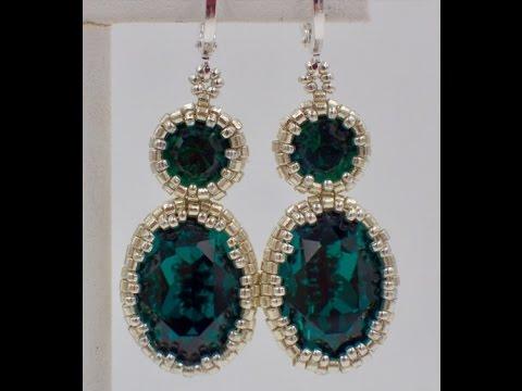Emerald City Earrings