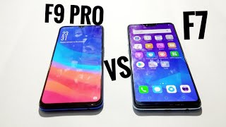 OPPO F9 PRO VS OPPO F7 |SPEED TEST,GAMING TEST
