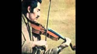غزلی از سعدی با آواز ایرج و ویولن استاد اسدلله ملک