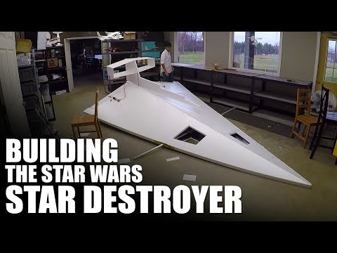Building A Giant RC Star Wars Star Destroyer | Flite Test