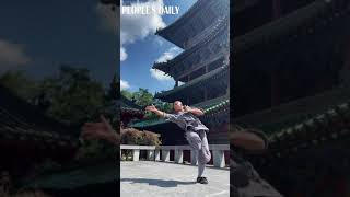 The energy and power that this Shaolin monk demonstrates will leave people in awe. #Kungfu