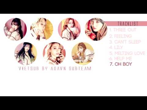 [Vietsub] AOA - Oh Boy! (Korean Ver.)  (Angel's Knock Album) [AOD]