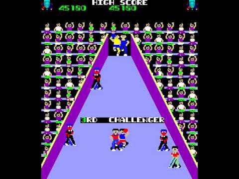 Arcade Game: VS Gong Fight/Ring Fighter (1984 Kaneko)