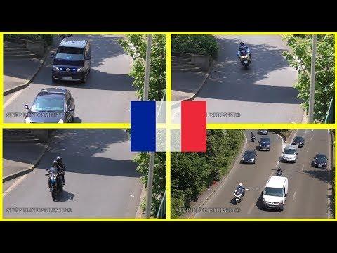 Motorcade French Interior Minister // Cortège Ministre de l'intérieur