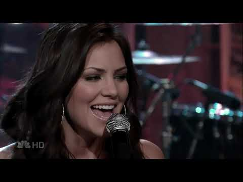 Katharine Mcphee Over It 2007 Leno 1080p Youtube