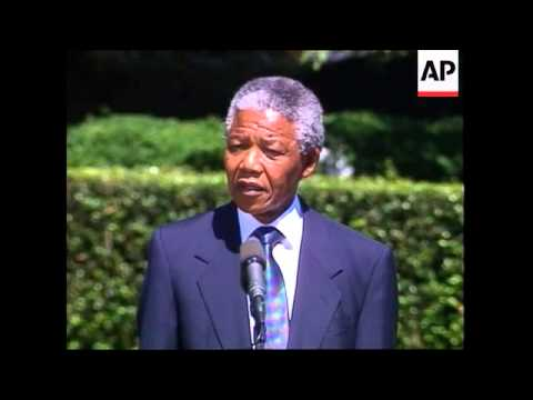 a biography of nelson mandela leader of the african national congress Mandela's quest for racial justice for black south africans as a leader of the african national congress led to twenty-seven years of imprisonment  nelson mandela .