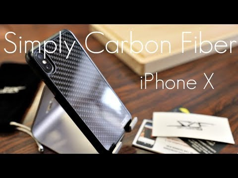save off 7fea0 49b5d Simply CARBON FIBER Case - iPhone X - Hands on Review!
