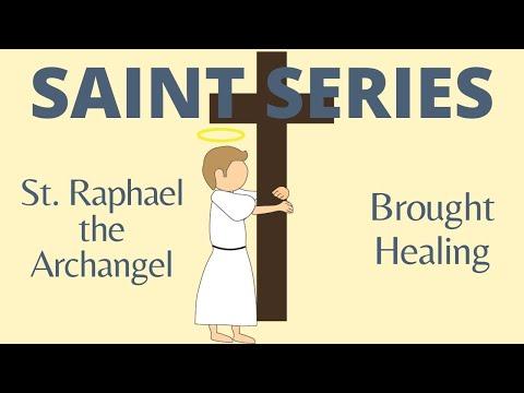 St. Raphael - Healed Tobit and Sarah