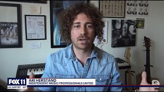 Ari Herstand Talks About AB5 Amendment AB2257 on FOX 11 Los Angeles
