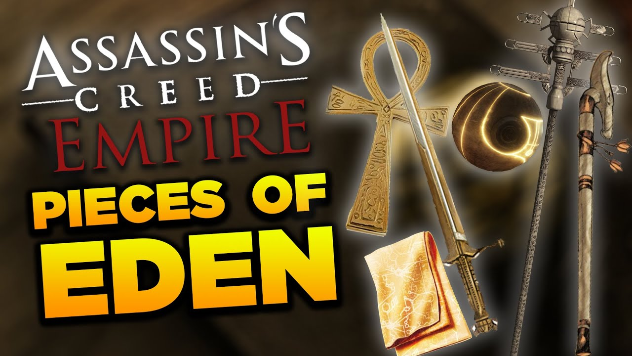 Assassin S Creed Empire Pieces Of Eden Ankh Of Eden Scepter