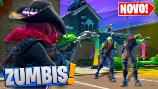 Fortnite: *NOVO* ESCAPE DO CAÇADOR DE ZUMBIS no PARQUINHO 4.0! ‹ DENGOSO ›
