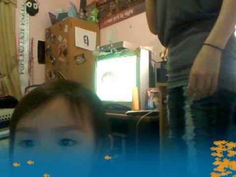 cute lil girls havin fun wit the cam