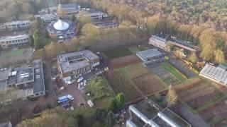 Vlucht over Campus Kristus Koning - Sint-Job-in-'t-Goor