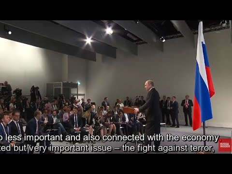 Putin Informs Public on What Has Been Agreed on G20 Summit in Hamburg, Germany
