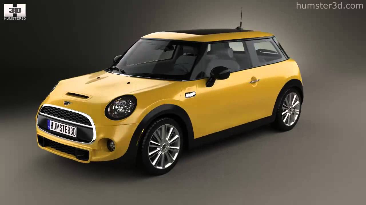 mini cooper s 2014 by 3d model store youtube. Black Bedroom Furniture Sets. Home Design Ideas