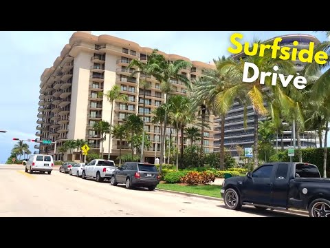 Miami Beach 4K Drive - Miami, FL - South Beach - USA