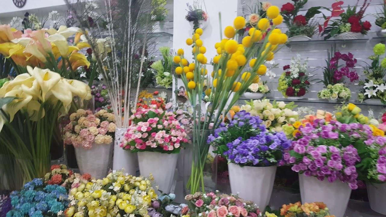 Artificial Flowers In Dubai Dragon Mart 2 Youtube
