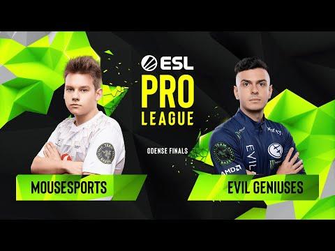 CS:GO - Evil Geniuses Vs. Mousesports [Inferno] Map 2 - Quarterfinals - ESL Pro League Season 10