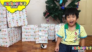 So many CHRISTMAS GIFTS this 2016! Our child opening surprise toys for kids playing with gifts