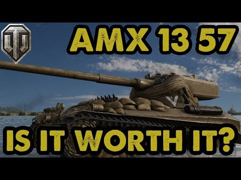 HMH: AMX 13 57 - IS IT WORTH IT? - Full Review & Mastery Gameplay - WoT  Console