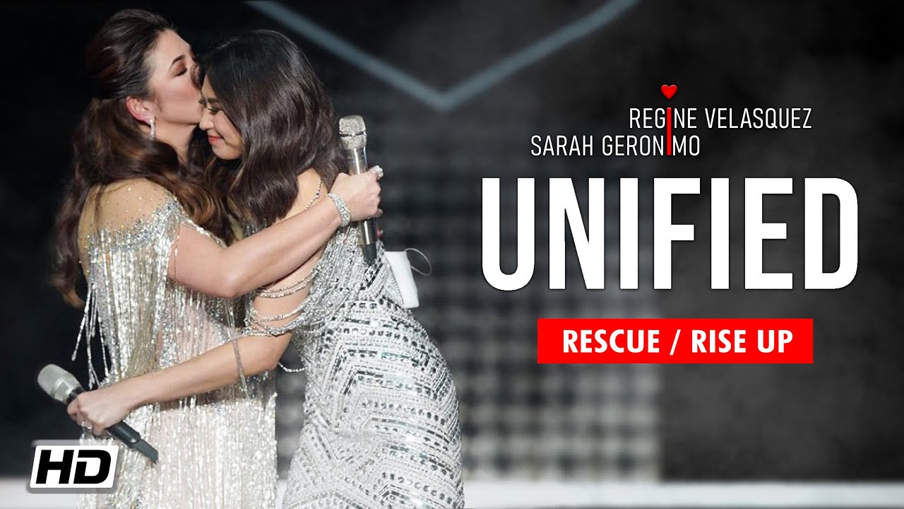 [HD/MULTICAM] - Rescue / Rise Up | Regine Velasquez & Sarah Geronimo (UNIFIED CONCERT) 2020