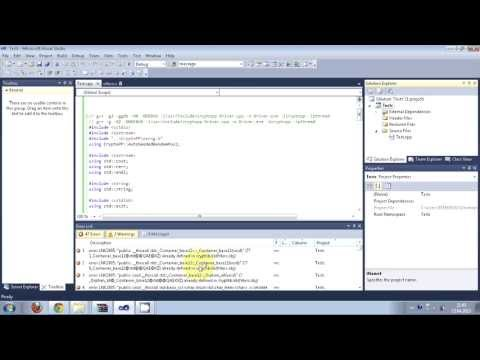 Compiling Crypto++ library into the Microsoft Visual C++ Environment + Running Sample program
