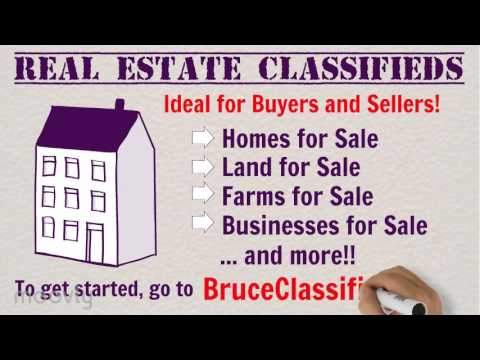 Real Estate Classified Ads with Bruce Classifieds