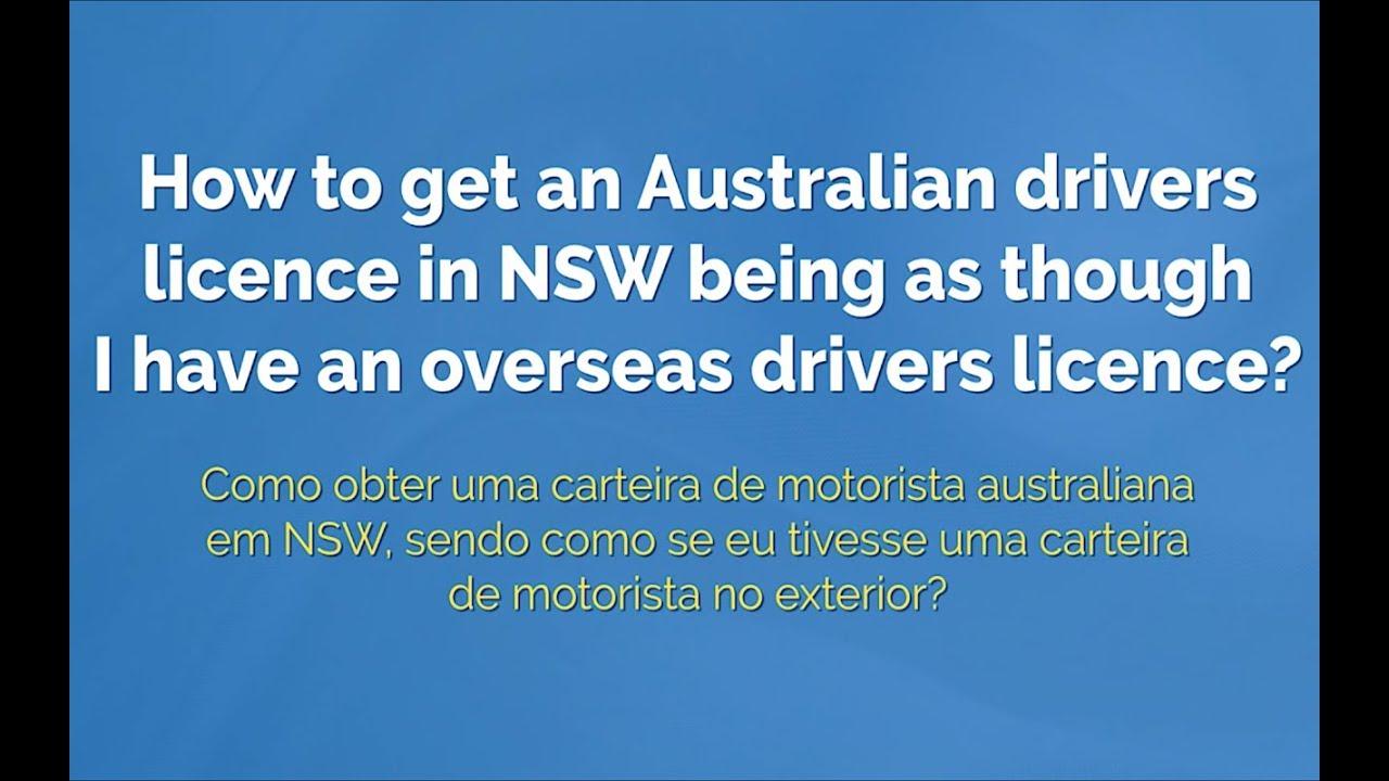 australian drivers license for international students