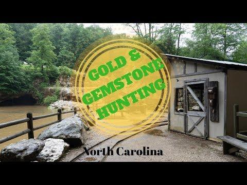 GOLD & GEMSTONE HUNTING At Emerald Village Gem Mine In NC (2019)