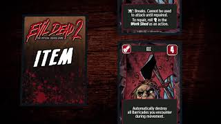 How to Play Evil Dead 2: The Official Board Game