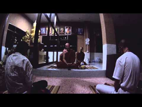 """Kamma can be really scary"" (HD) - Dhamma talk by Ajahn Martin"