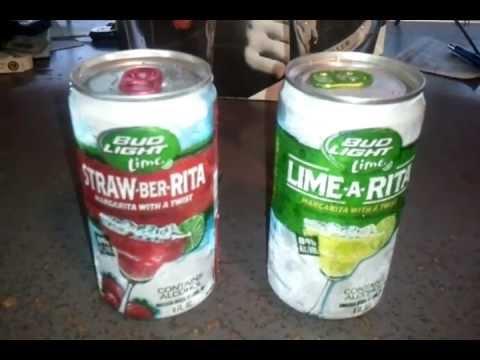 Bud Light Lime Straw Ber Rita VS Lime A Rita Review