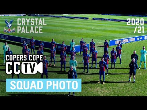 The 2020/21 Crystal Palace Squad Photo   CCTV