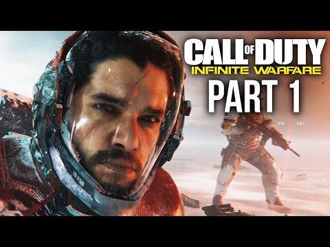 CALL OF DUTY INFINITE WARFARE Gameplay Walkthrough Part 1 - JON SNOW??? (Campaign)