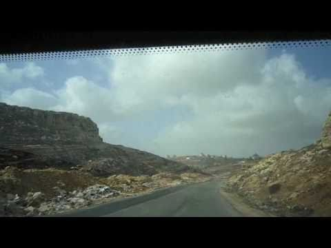 Short movies form inside the car - Palestine 2010