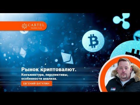 Рынок криптовалют. Конъюнктура, перспективы, особенности анализа. Евгений Ватулин