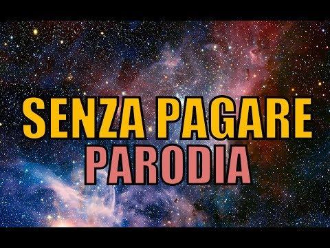 SENZA PAGARE - PARODIA  il Pancio & Amedeo Preziosi