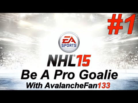 NHL 15 - Be A Pro - Goalie - Episode 1: Game 4 Of My 1st Season