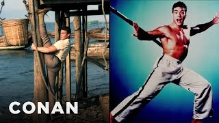 Jean-Claude Van Damme Knows How To Take A Publicity Photo  - CONAN on TBS