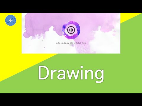 osu!mania 4K World Cup 2016 - Drawings